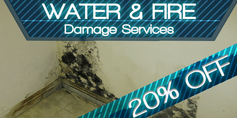 Water and Fire Damage Services for Better Price